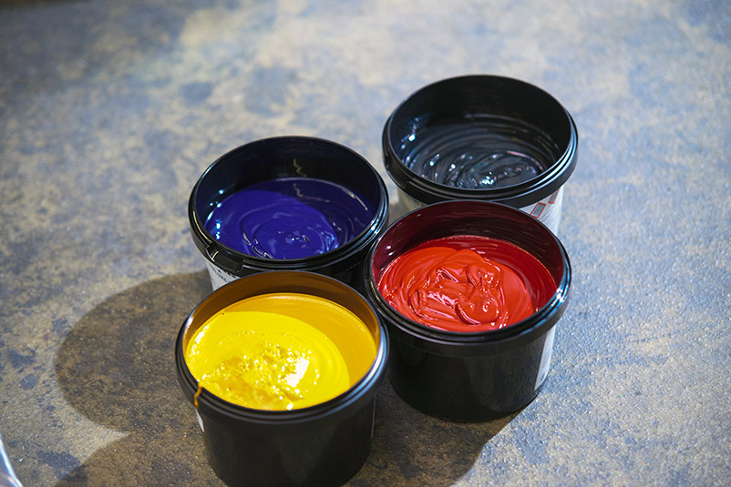 Froben Druck Produkte: Farben