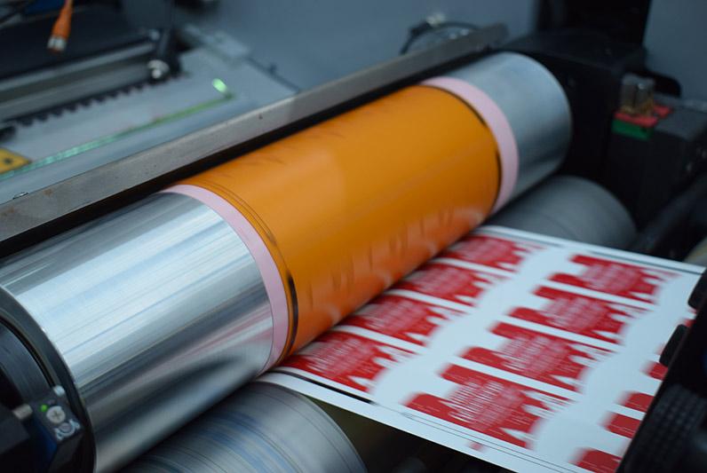 Froben Druck Produkte: Flexographic labels
