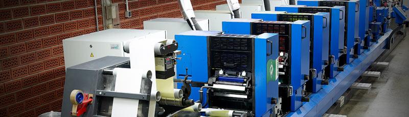 Etikettendruck im Offsetdruckverfahren. Wir drucken Etiketten im Offsetdruck!