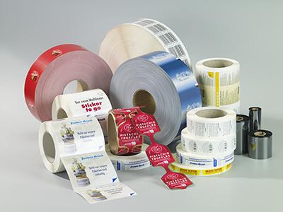 Froben Druck Produkte: Adhesive Roll Labels