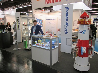 Timo Wolfsdorf at the fachpack fair 2015