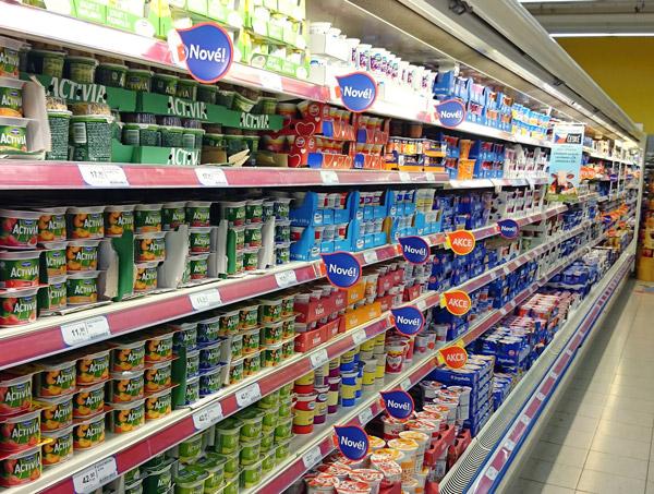 Froben Druck Produkte: Lebensmittel